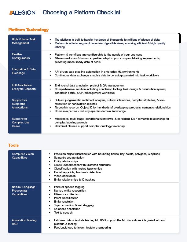 Excerpt_Choosing a Platform Checklist